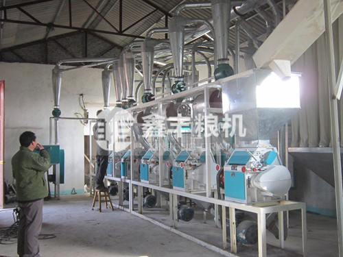 30吨级面粉机械设备