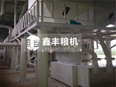 河南新乡50吨玉米加工设备安装案例