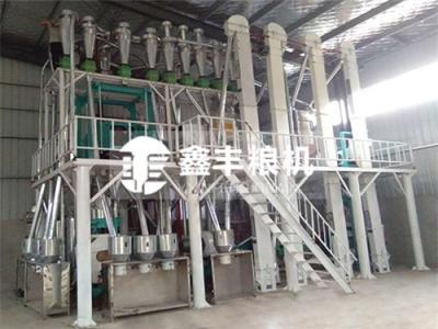 徐州15吨玉米加工设备安装案例